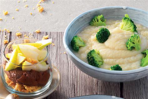crema sedano rapa ricetta crema di sedano rapa con broccoletti la cucina