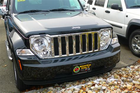 Jeep Liberty Grill Jeep Liberty Chrome Mesh Grille Insert Overlay Trim 08 2013