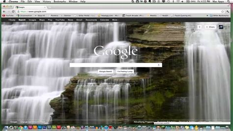 make calendar my homepage how to change your home page background image
