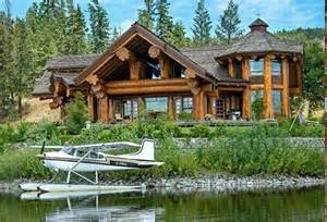cabin by the lake homes