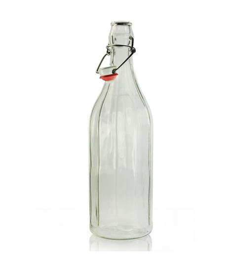 glass swing 1000ml glass swing top bottle