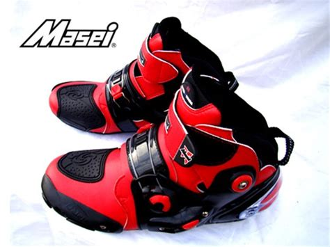 red motorcycle boots masei red motorcycle 101 boot