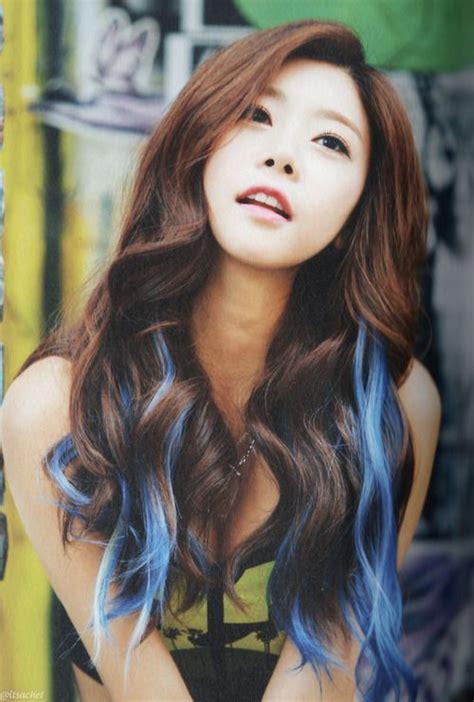 J011051931 Jepit Rambut Korea Hijau gaya rambut ombre ala idol k pop yang harus kamu coba ceritakorea