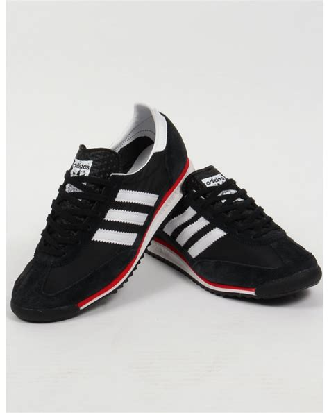 Adidas For adidas sl 72 trainers black white originals shoes