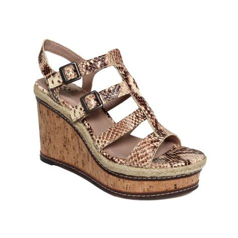vince sandals vince camuto serafina wedge sandals in beige