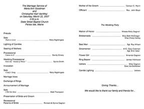 Free Church Program Templates by Church Program Template Cyberuse