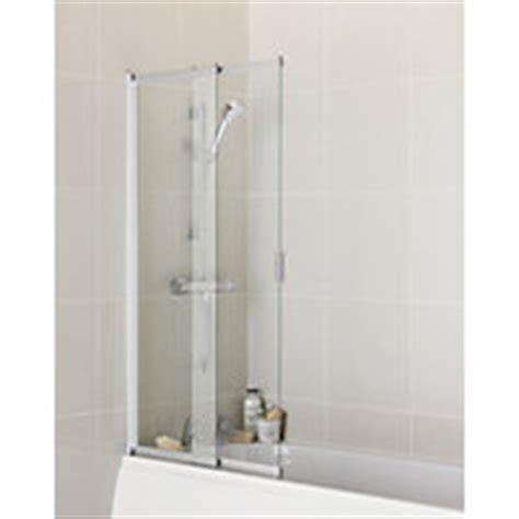 sliding shower bath screenbathroom ideas bath screens folding bath and shower screens at homebase