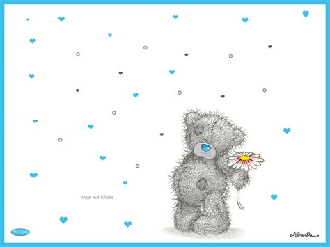blue you and me tatty teddy wallpaper wallpapersafari