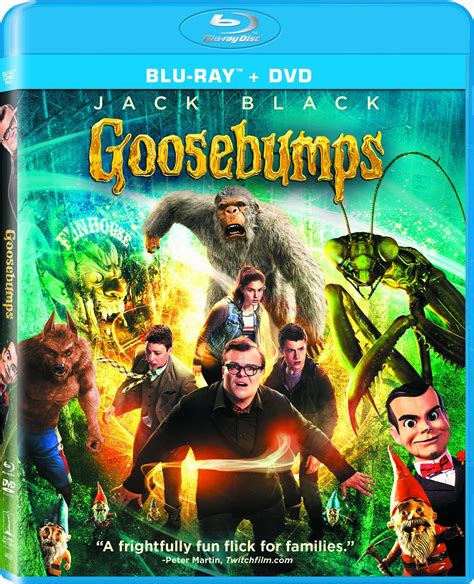 film blu ray releases goosebumps dvd release date january 26 2016