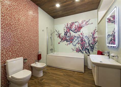 glaspaneele bad glas statt fliesen im bad pflegeleicht und dekorativ