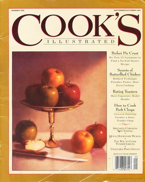 cook s illustrated backissues com cook s illustrated september 1994