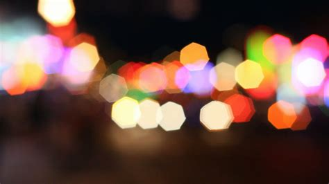 City Lights Backgrounds Wallpaper Cave Blurry Lights