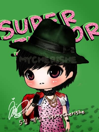 Mug Kpop Junior Chibi chibi junior 5jib teaser photo mycherishe version ys sj