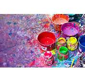 Paintings For Holi Festival Wallpaper Widescreen
