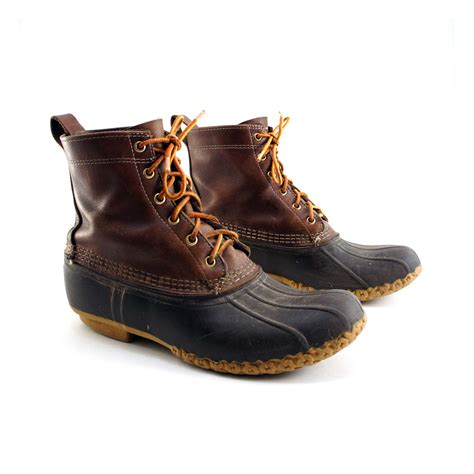 ll bean boots vintage s l l bean duck boots size 9