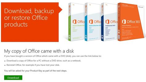 Cd Instal Microsoft Office lost office 2010 or 2013 cd dvd legally office from microsoft