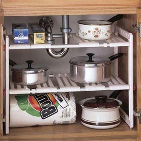 embaixo da pia armario prateleira expansivel organizador de cozinha de armazenamento espaco em