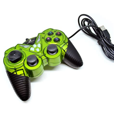 Vztec Usb Vibration Controller Pad Joystick Model Vz Ga6005 vztec usb2 0 dual shock vibration pad joystick model vz ga6006 green jakartanotebook