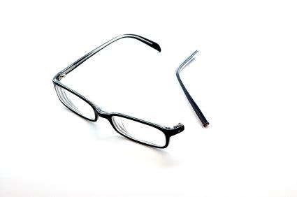 broken eye glasses glass