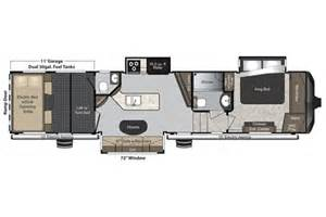Keystone Raptor Floor Plans by 2016 Raptor 375ts Floor Plan Toy Hauler Keystone Rv