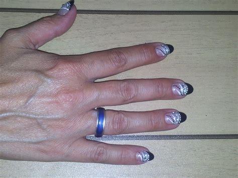 Gekleurde Nagels by Foto S Zilveren Nagels Nageltips Zilver Gelakt Nagelsalon