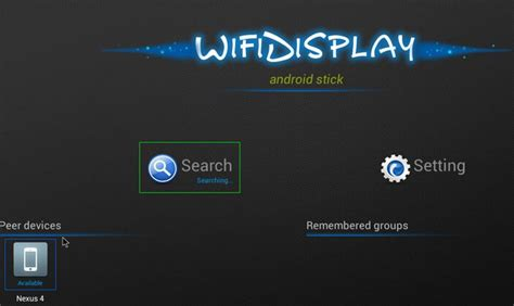 miracast for android how to use miracast wireless display on your android mini pc