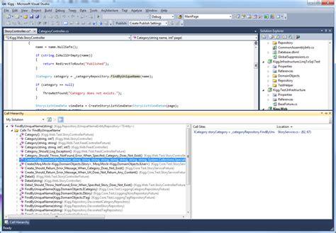 visual studio layout hierarchy review visual studio 2010 ide techrepublic