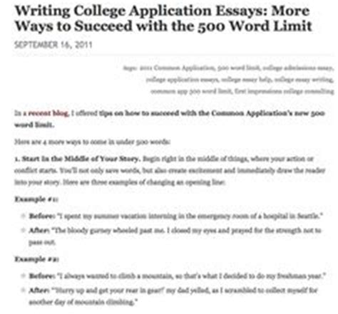 College Application Essay Number Of Words 1000 Images About College Application Essays On Essay Writing Colleges And Writing