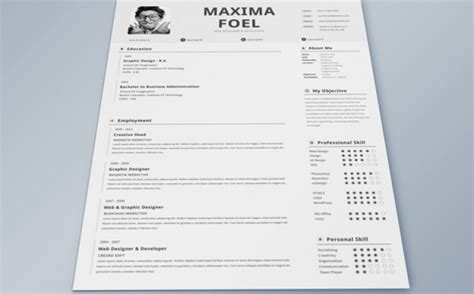 Creative Professional Resume by 5 Creative Resume Designs That Will Make Recruiters Look