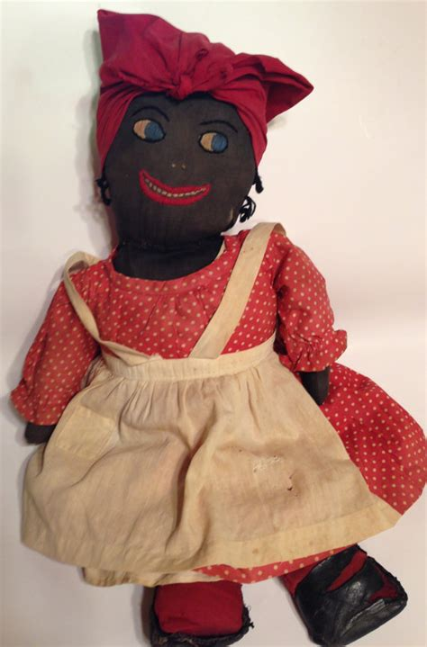 black doll antique antique mammy doll black americana handmade by thepokeypoodle