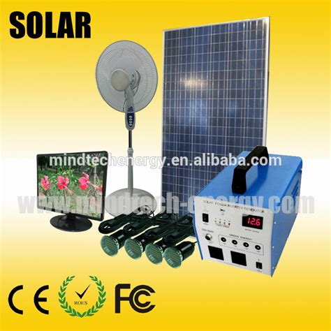 300w whole house solar power system home solar electricity