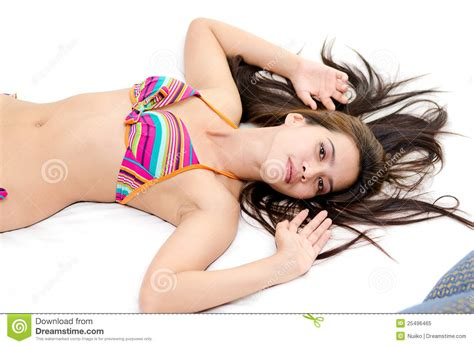lying down in bed attractive asian woman lying down in bed royalty free