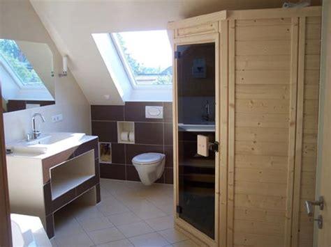 Bad Mit Sauna Grundriss by Voll Im Trend Die Sauna Oase Im Badezimmer