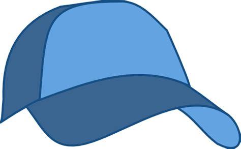 Clip Racing Cap Bagasi Belakang hat baseball cap blue clip at clker vector clip royalty free domain