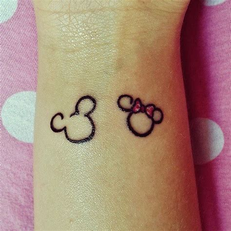 mickey mouse ears tattoo minnie mickey mouse disney mic min