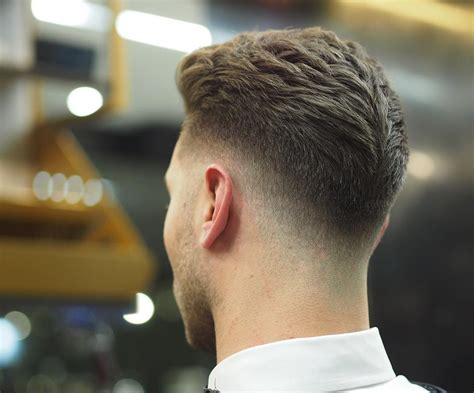 long hair witj side fade low fade haircuts