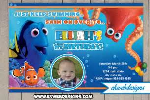 free printable finding dory invitations ideas drevio invitations design