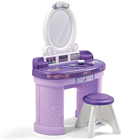 Step2 Pretty And Posh Vanity With Stool Set by Step2 Pretty Posh Vanity Set With Stool Ebay