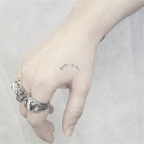hand tattoo tumblr minimalist tattoos