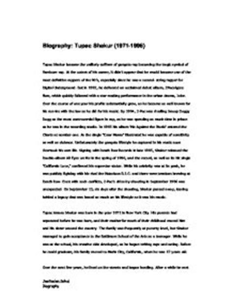 tupac biography essay biography tupac shakur 1971 1996 gcse religious