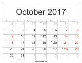 Turkey Calendario 2018 October 2017 Calendar Printable With Holidays Pdf And Jpg