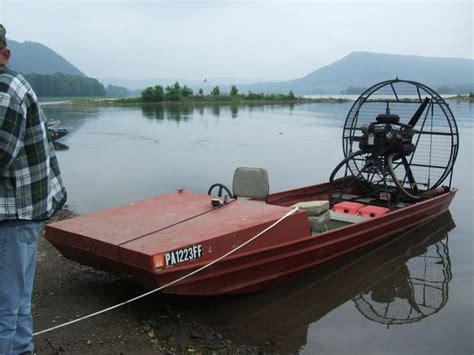 jon boat homemade home made corvair powered jon boat millersburg pa