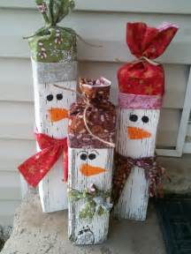 How cute are these snowmen place them near your front entrance and