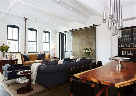 interior design new orleans interior designer warehouse loft conceived for a bachelor in new york city