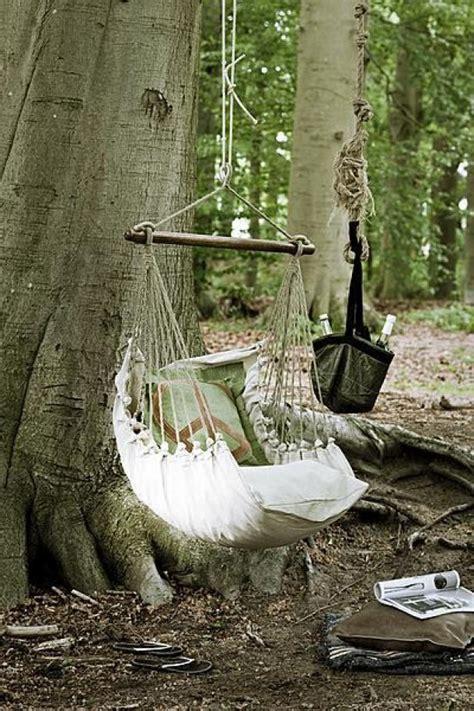 diy adorable tree swings