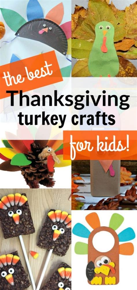 kid friendly thanksgiving crafts 20 of the best thanksgiving turkey crafts for to make
