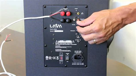 install  hometheater subwoofer youtube