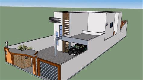 casas en 3d planta de casa 3d maquete eletr 244 nica sketchup youtube