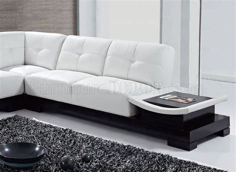 White Bonded Leather Sectional Sofa by U778 Sectional Sofa White Bonded Leather Global