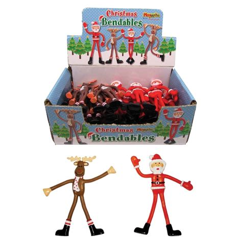 bendable christmas figures christmas toys santa